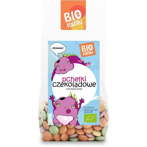 Biominki pchełki czekoladowe BIO 100g