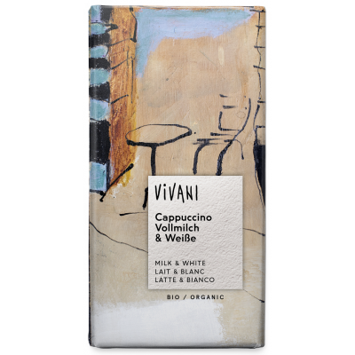 Vivani czekolada cappuccino BIO 100g