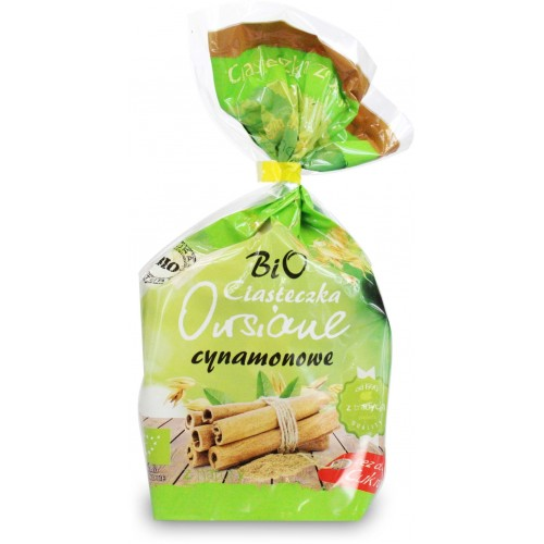 Bio Ania ciasteczka owsiane cynamonowe bez dodatku cukrów BIO 150g