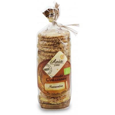 Bio Ania ciasteczka orkiszowe naturalne bez dodatku cukrów BIO 120g