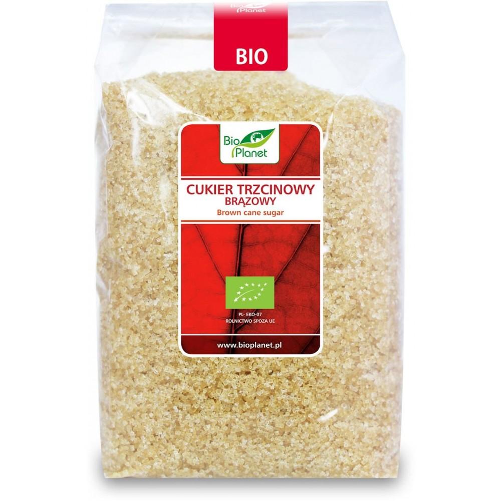 Bio Planet cukier trzcinowy brązowy demerara BIO 1kg