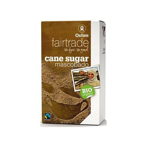 Oxfam cukier trzcinowy Mascobado Filipiny fair trade BIO 1 kg