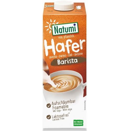 Natumi napój owsiano-sojowy barista (bez dodatku cukrów) BIO 1l