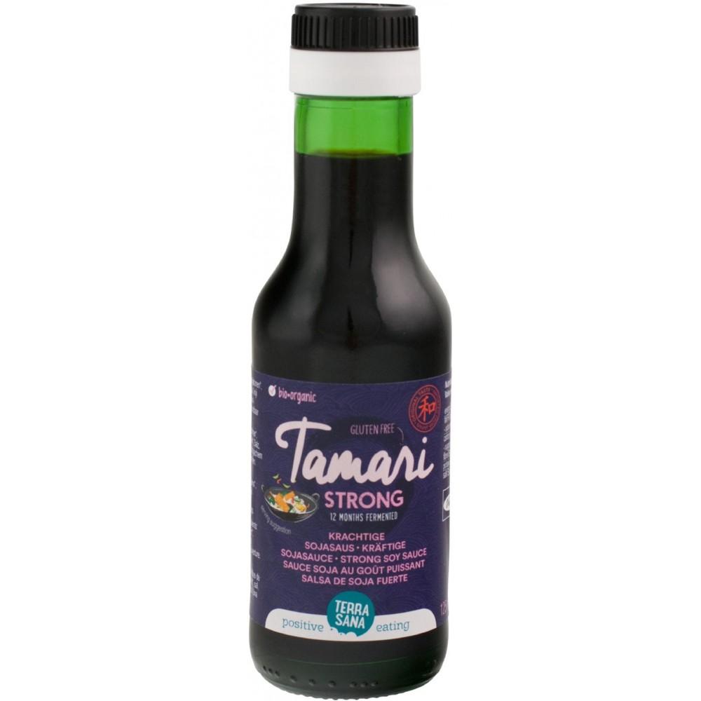 Terrasana sos sojowy mocny tamari bezglutenowy BIO 125ml