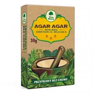 Agar-agar, środek żelujący w proszku 30g
