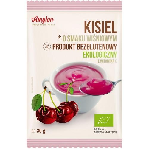 Amylon kisiel o smaku wiśniowym bezglutenowy BIO 30g