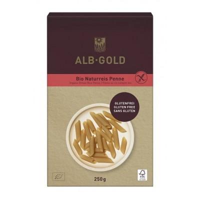 Alb-Gold makaron (ryżowy razowy) penne bezglutenowy BIO 250g