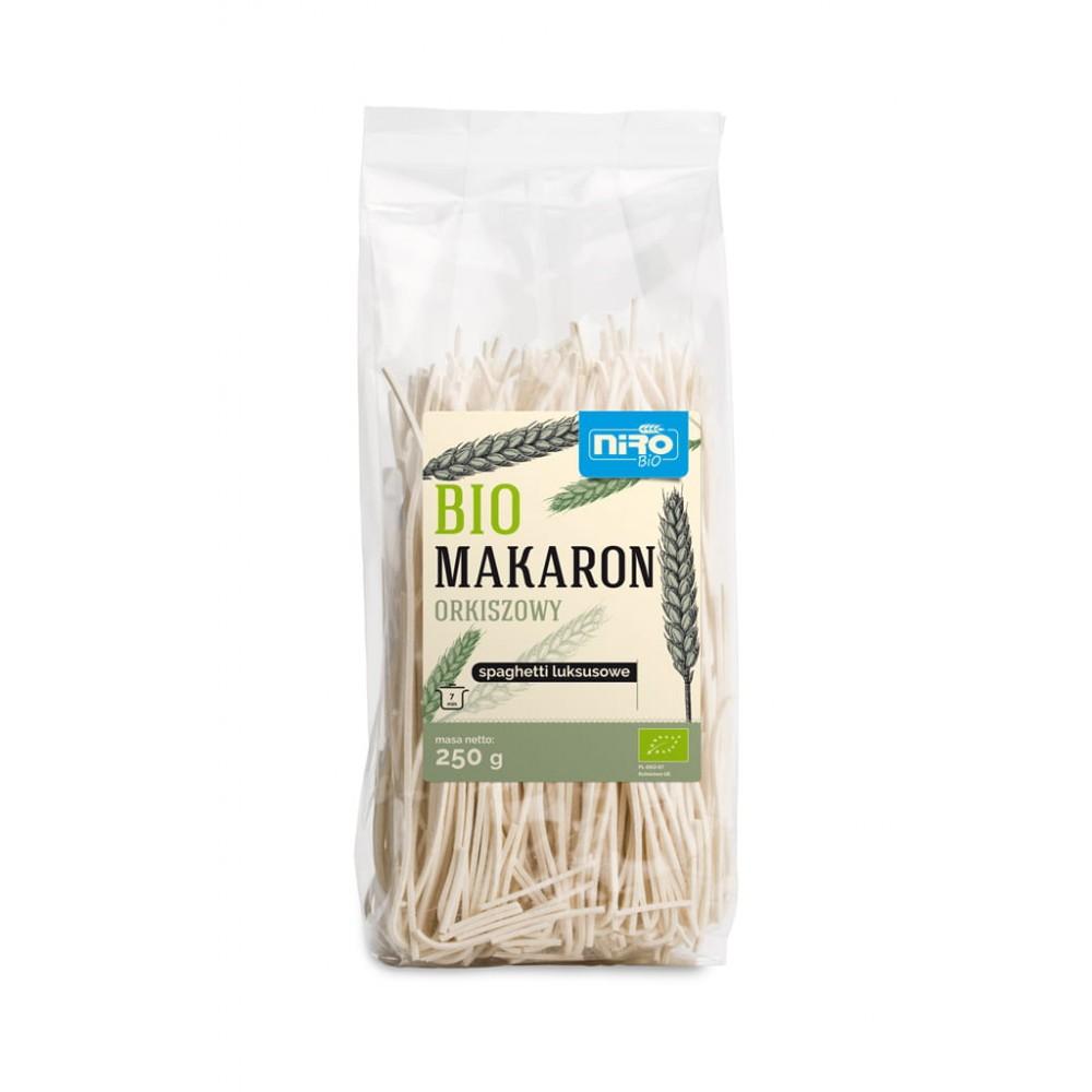 Niro makaron (orkiszowy) spaghetti luksusowy BIO 250g