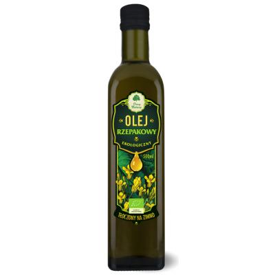 Dary Natury olej rzepakowy virgin BIO 500 ml