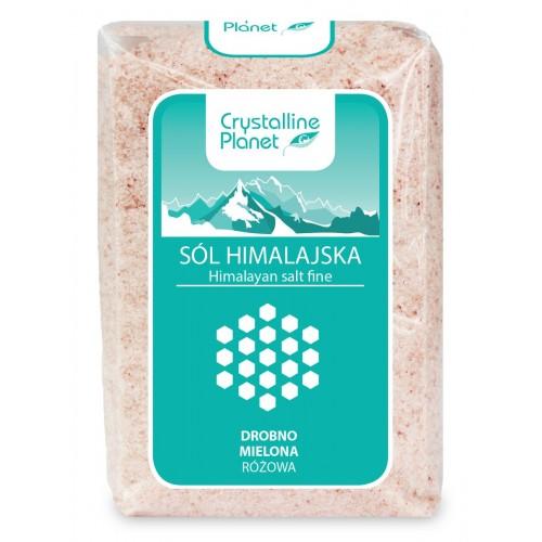 Crystalline Planet sól himalajska różowa drobno mielona 600g